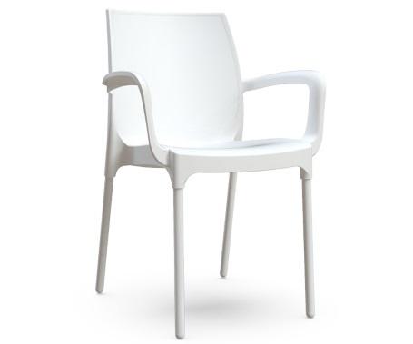 Plastična stolica CASTELLO white