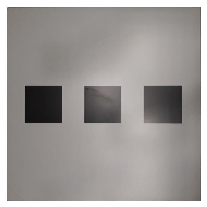 Ploča za ugostiteljstvo Topalit Domino brushed silver/black linear 80x80