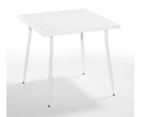 Plastični stol Carmen 80x80 cm white