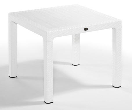 Plastični stol Classi 90x90 cm white