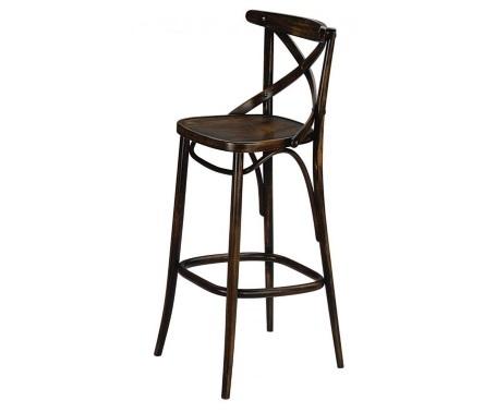 Drvena barska stolica 12