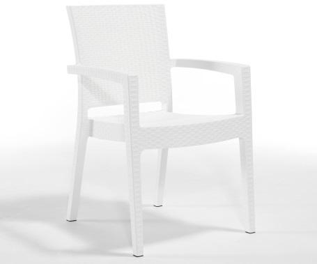 Plastična stolica Paris white