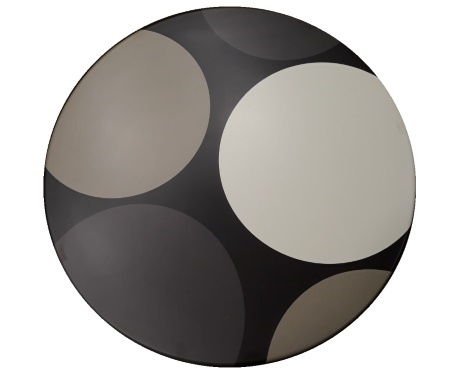 Topalit ploča Pure circles fi 60