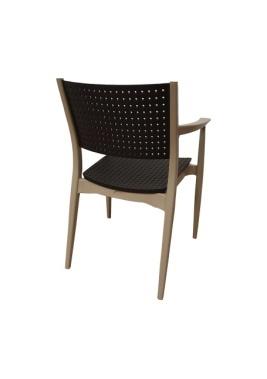 Plastična stolica Segius 1
