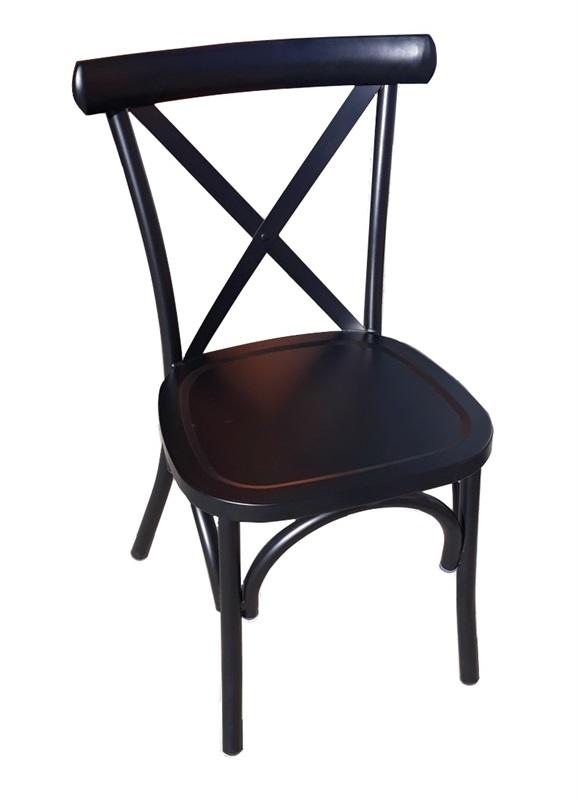 stolica  aluminijska   i n a   b l a c k