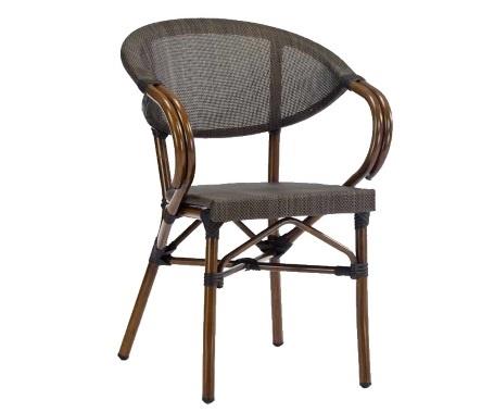 Stolica za ugostiteljstvo Royal 3 brown